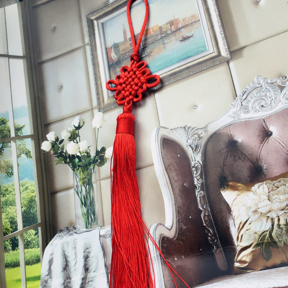 Chinese Red Knot Window Curtain Bag Door Car Tassels Curtain Accessories  Decorative Gifts 25cm Length Sell By Pair In Tassel Fringe From Home U0026  Garden On ...