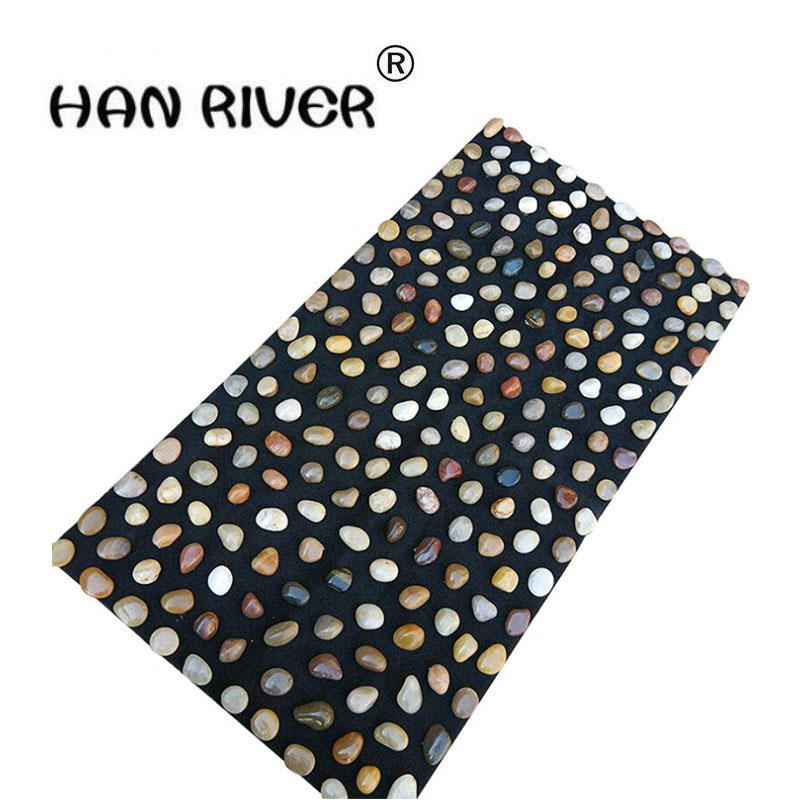 HANRIVER 40 * 70 cm pebbles massage foot massage foot massage cushion/blanket gravel roads цены