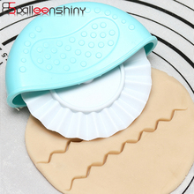BalleenShiny ABS 4pcs/set Cutting Edge Roller Wave Biscuit Rippling Baking Hob Cake Sugar Craft Dough Cutter Fondant Gadgets dp24 pa14 5 gear hob cutter