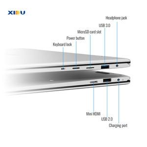 Image 5 - Nouveau XIDU PhilBook ordinateur portable 1920*1080P HD ordinateur portable 2 en 1 tablette Quad Core PC portable écran tactile Mini PC USB3.0 ordinateur portable