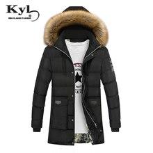 2017 Plus La taille M-4XL Hiver Chaud Veste Trench Hommes De Mode à capuche Pur Coton Mâle Long Manteau Chaud Épais Homme Casual veste