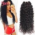 Indiano Virgem Do Cabelo Encaracolado 4 pacotes Molhado E Ondulado Remy Humano cabelo Afro Kinky Curly Feixes de Cabelo Indiano Onda Profunda Beleza Gema fornecer