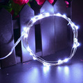20 Led Strip String Lights Copper Wire Outdoor Garden Holiday Christmas Wedding Decoration Battery Operated Lights Lamp 9 Color
