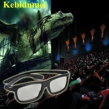 Kebidumei 2 шт./лот пара Настоящее 3D видение поляризованное стекло es стекло просмотра фильмов для samsung для LG для sony Smart tv игры