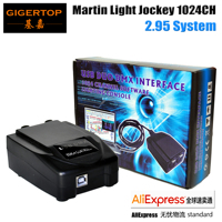 Aliexpress רוכב מרטין USB 2.95 DMX ממשק 1024 ערוץ תוכנה תאורת קונסולת USB DMX מחשב 3D תאורת אפקט חי-באפקטי תאורה לבמה מתוך פנסים ותאורה באתר