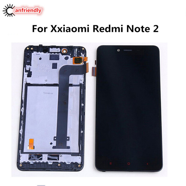 For Xiaomi Redmi Note 2 LCD Display + Touch Screen With Frame Replacement Digitizer Assembly For Xiaomi Redmi Note 2 replace lcd