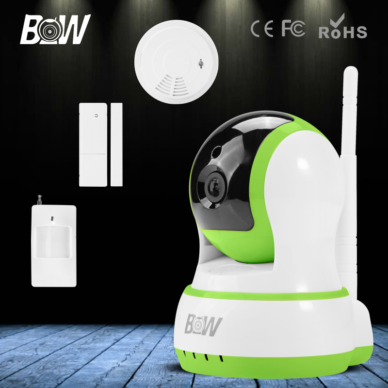 BW HD IP font b Camera b font WiFi 720P Security IP font b Camera b