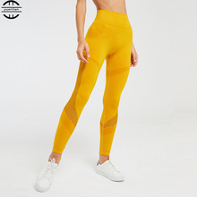 Newest Gym Seamless Leggings Tummy Control High Waist Yoga Pants Sport Tights Elastic Fitness Sports Wear