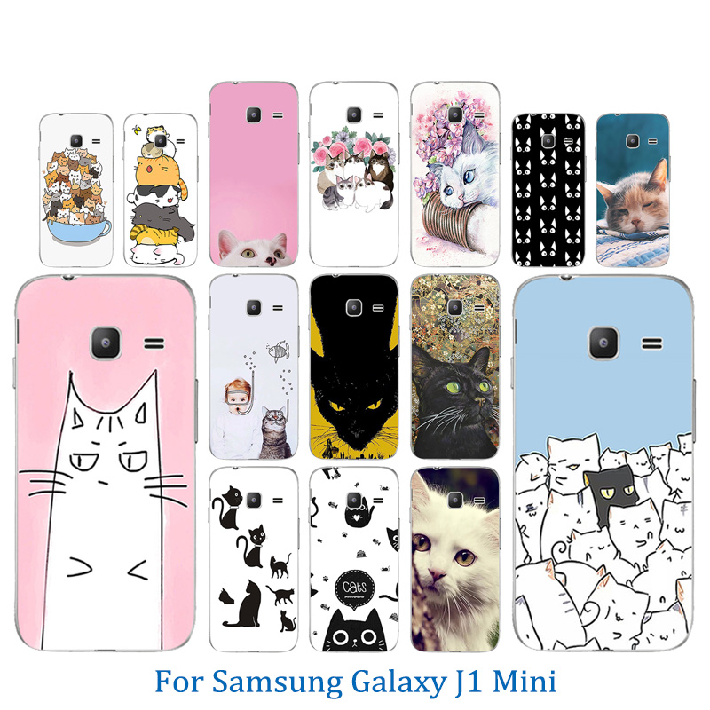 premium selection 9b7f1 1231d For Samsung Galaxy J1 Mini Case TPU Silicone Luck Cat Pattern Phone Case  For Funda Galaxy J105 J105H Soft Back Cover (BEST DISCOUNT July 2019)