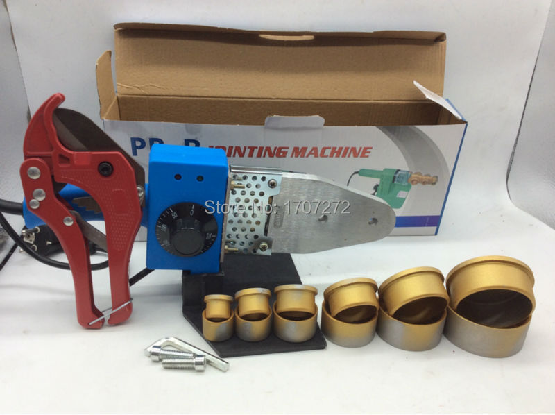 Free Shipping Temperature controled PPR welding Machine plastic welding machine plastic welder AC 220V 800W 20