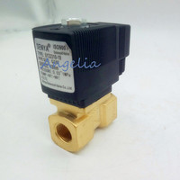 AC220V/110V G2 Brass Electric Solenoid Valve for Water waterproof Normally Closed