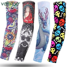 Ice Fabric Cycling Arm Warmers Basketball Sleeve Running Sleeves Bicycle warmers Camping Summer Sports Safety
