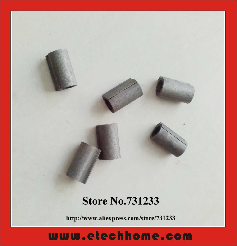 4pcs/lot Input Shaft Sleeve Shaft Adaptor 8mm to 11mm for RV30 Worm Reducer Mounting With Nema 23 Stepper Motor