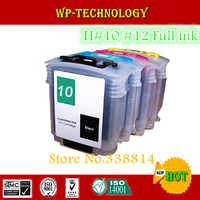 Full Refill cartridge suit for HP10 HP12 (C4844A C4804A C4805A C4806A),suit for HP Business Inkjet 3000 With ARC chips