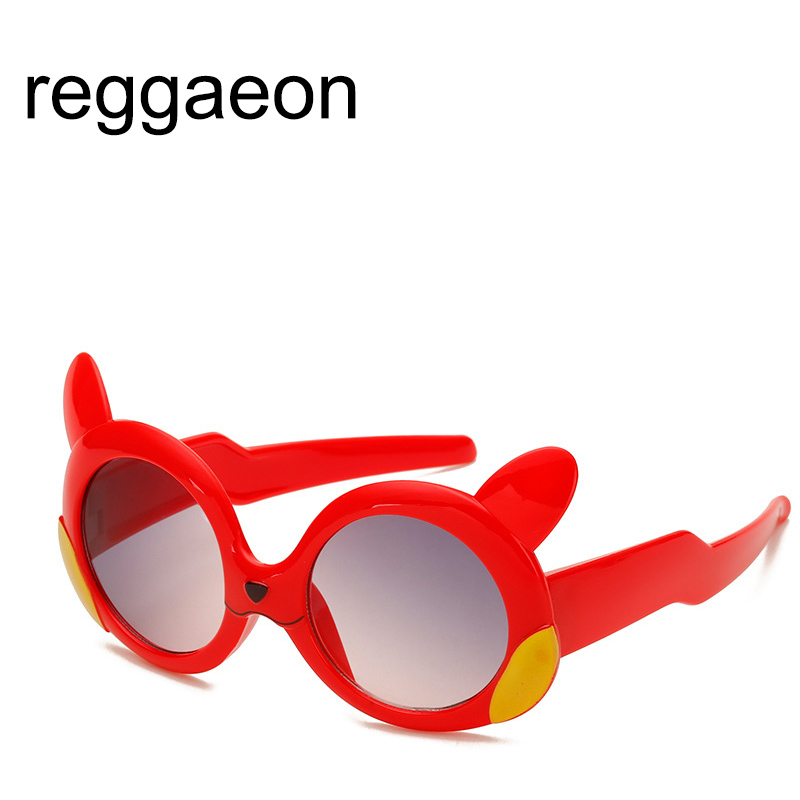 Hearty Children Boys Girls Super Soft Silicone Sun Glasses Fashion Baby Safety Sunglasses Classic Children's Cheap Uv400 Red Excellent In Cushion Effect