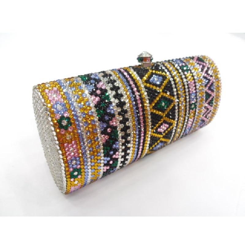 ФОТО L7703A Crystal Lady Fashion Bridal Party Metal Evening purse handbag clutch bag case box