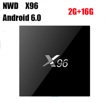 X96 Smart TV BOX Android 6.0 Amlogic S905X Quad Core KODI Marshmallow 4K Mini PC Wifi HDMI 1G 8G 2G 16G X96