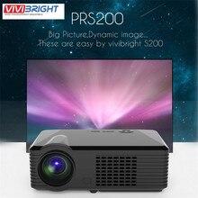 2500 lúmenes 800*480 LED de Cine En Casa 3D Proyector De Vídeo De Audio Dynamic 1080 P Cinema Full HD 4 K Doble HDMI & USB DVB-T HDTV VGA