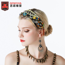 2019 Tribal Style ATS Belly Dance Accessory Women Headpieces Headbands Gypsy Vintage