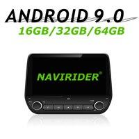Navirider gps навигации для Ford Ecosport Fiesta 2017 сенсорный экран автомобиля android 9,0 64 Гб встроенная память радио проигрыватель вluetooth стерео