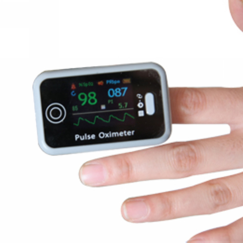 New Item Finger Tip Pulse Oximeter CMS50H OLED Display Blood Oxygen Saturation SpO2 Digital PR PI Pulse Heart Rate Monitor 1 2 lcd digital clip on finger pulse oxygen blood oximeter w alarm orange white 2 x aaa