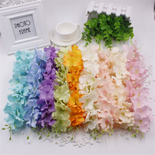 Wholesale 1pcs wisteria artificial flower vine for wedding home wholesale 1pcs wisteria artificial flower vine for wedding home party kids room decoration diy silk flowers mightylinksfo