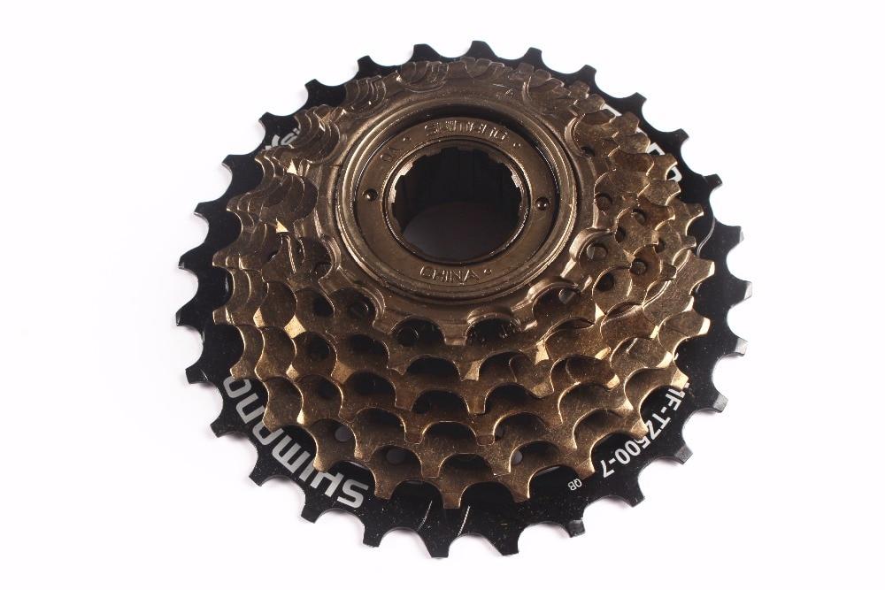 shimano MF-TZ500 / TZ21 7 Speed Cassette Freewheel 14-28T for MTB Road Cycling Bike 7-speed cassette update from TZ21 цена