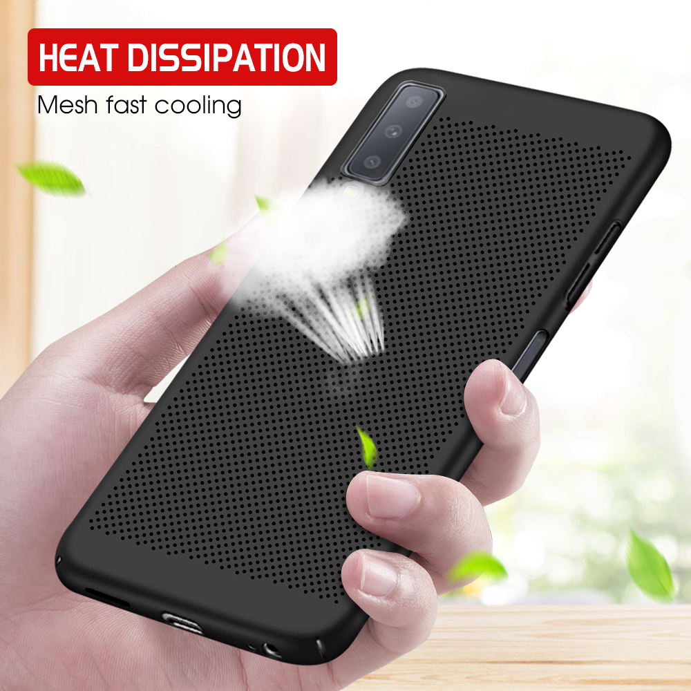 Heat Dissipation <font><b>Cases</b></font> For <font><b>Samsung</b></font> <font><b>Galaxy</b></font> A70 A50 <font><b>A40</b></font> A30 A20 A10 Hard PC <font><b>Phone</b></font> <font><b>Case</b></font> For <font><b>Samsung</b></font> A 70 50 30 70A 50A 30A 10A 20A image