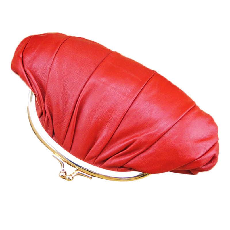 BELLO TUTTI женский из натуральной кожи мини монета женский кошелек, портмоне из овчины Кошелёк на застежке маленькая сумка с двойной подкладкой 1 шт.