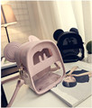 Fashion School Bag Stylish Shoulder Bag Quality PVC Candy Beach Bag Clear Mini Color Bag Casual Shopping Handbag For Women