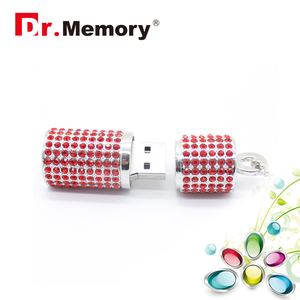 Image 5 - Luxury Rhinestones Diamonds USB Flash Drive High Quality Memory Stick Waterproof Pen Drive 4G 8G 16G 32G 64G Memory U Flash Disk