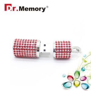 Image 5 - יוקרה Rhinestones יהלומי USB דיסק און קי זיכרון באיכות גבוהה מקל עמיד למים עט כונן 4G 8G 16G 32G 64G זיכרון U דיסק פלאש
