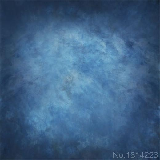 3x5FT Dark Royal Blue Color Grunge Texture Wall Custom