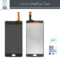For Oneplus Two LCD Screen Display Complete Original Touch Screen Digitizer Amssembly Black Color Free Shipping