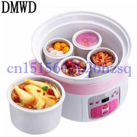 DMWD 220V 300W Multifunctional Household Electric Slow Cooker 5 Ceramic liners with Timer cooking gruel Health slow cooker