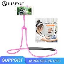 Support pour téléphone paresseux 360 bras longs flexibles rotatifs Support pour téléphone portable bureau Table Clip lit Support paresseux Support intelligent