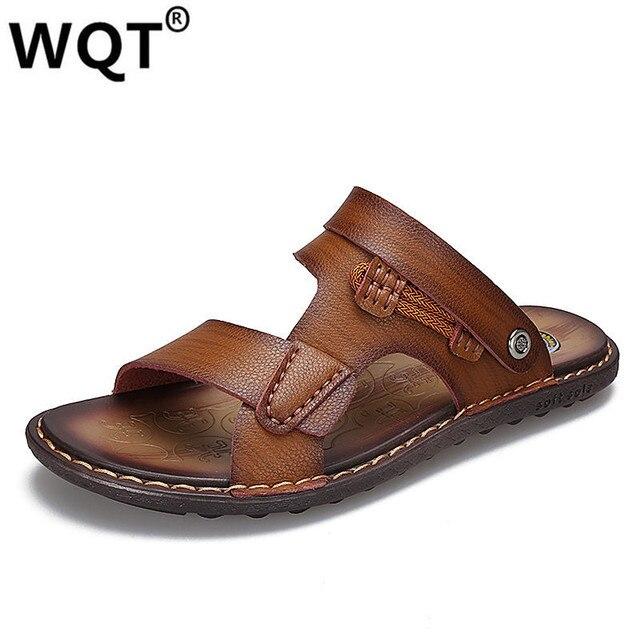 Sandalias y zapatillas de playa de verano para hombres Jgj4lTN