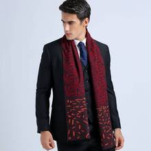 Wholesale Winter Autumn Cotton Scarves England Style Men Business Scarf Tartan Foulard Cachecol YJWD346