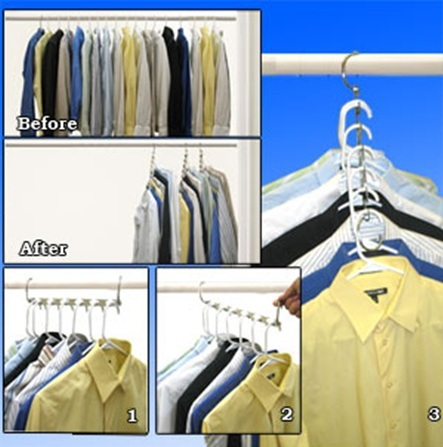 Useful Heavy Duty Metal Wonder Hanger For Clothes Magic Metal Hanger  Extension Closet Organizer Promotion
