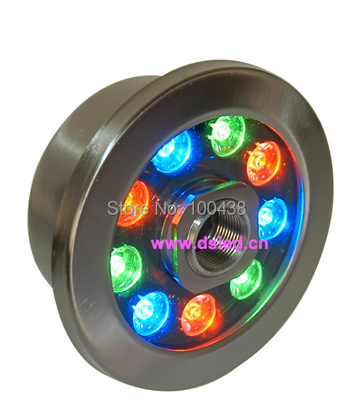 CE,IP68,Stainless steel, 9W RGB LED pool light,RGB LED fountain light,DS-10-36 9X1W,12V DC,RGB color change,2-year warranty free shipping by dhl ip68 stainless steel high power 9w led swimming pool light underwater led light ds 10 1 9w 3x3w 12v dc