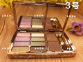 2016 New Fashion diamond Fashion Eye shadow Makeup 8 Colors Diamond Particles Eyeshadow Maquillage Palette Eye Shadow