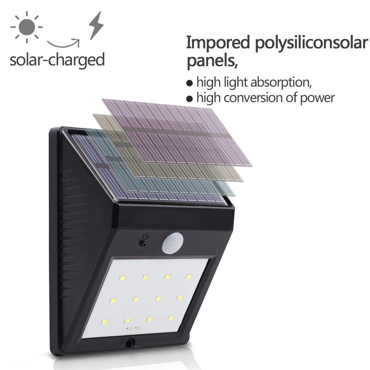 Lâmpadas Solares lampada luz solar jardim levou Garantia : 1 Year