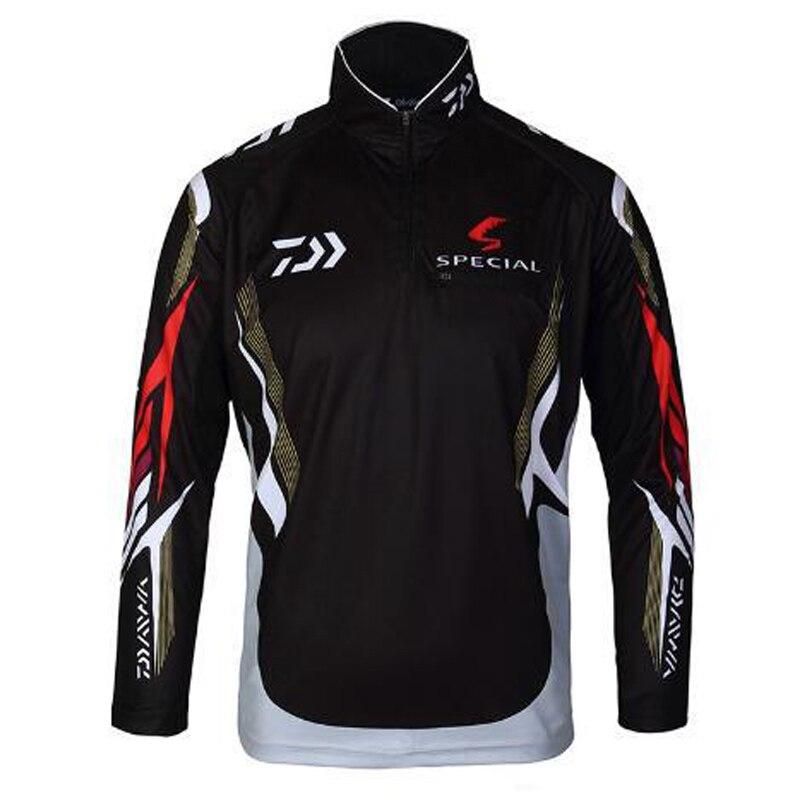 2017 daiwa brand fishing shirt outdoor sportswear fishing for Fishing gear clothing