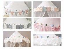 Kulki pompony dekoracyjne do pokoju dziecka, na baldachim namiot