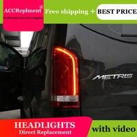 Авто. PRO 2016 2018 для Mercedes Benz vito светодиодный задний фонарь для Tahoe Suburban светодиодный задний фонарь автомобильный Стайлинг багажная лампа Парко