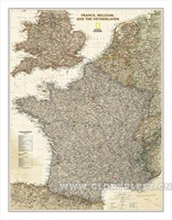 Large Vintage South France Map Bar Cafe Home Decoration Detailed Antique Poster Wall Chart Retro Cotton cloth Canvas painting
