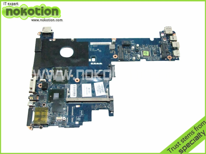 все цены на  for HP Elitebook 2540P Intel Motherboard 598762-001 LA-5251P i7-640LM Intel QM57 Chipest GMA HD DDR3 Laptop Mother Board  онлайн