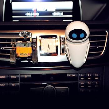 Car Freshener Cartoon Robot Vent Clip Perfume Diffuser Cute Decor Automobile Internal Fragrance Odor Air Purifier Accessories