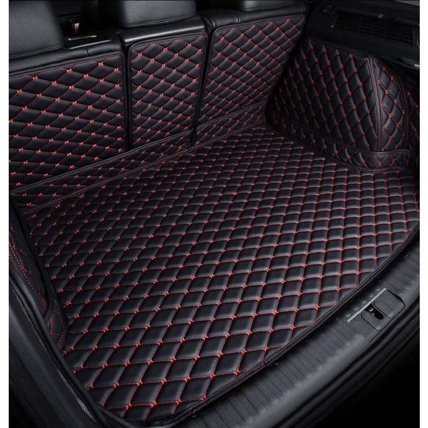 Sur mesure Tapis De Coffre De Voiture pour Mercedes Benz W201 W202 W203 W204 W205 AMG C43 C63 De Voiture accessoires de Coiffure Queue boîte Tapis de Coffre