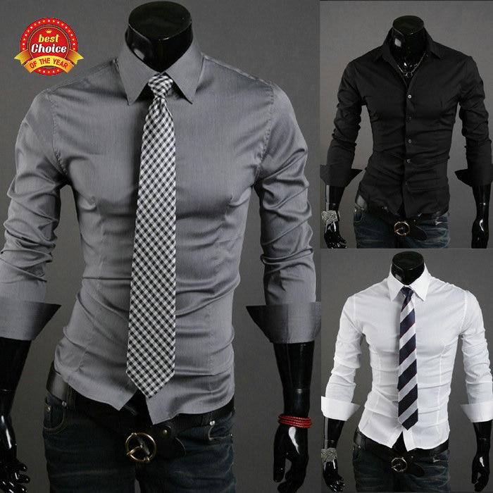 Free Shipping 2014 New style men's dress shirt ,latest shirt ...